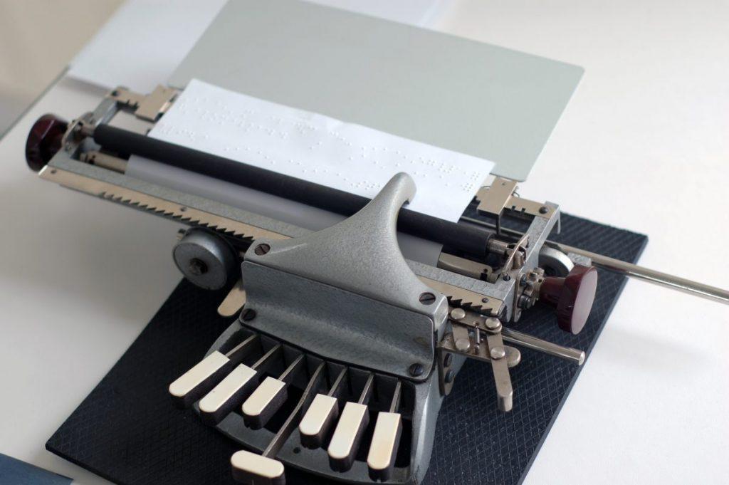 Braille is notetaking
