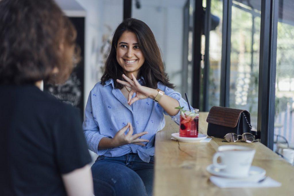 definition sign language