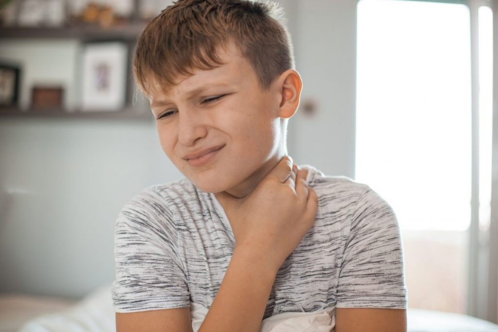 herpangina sore throat symptom