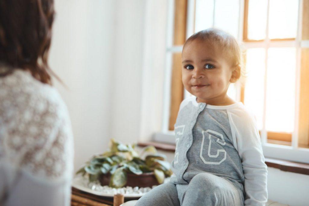 infants dimples