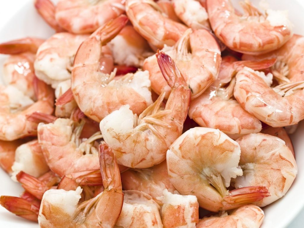 healthy shrimp