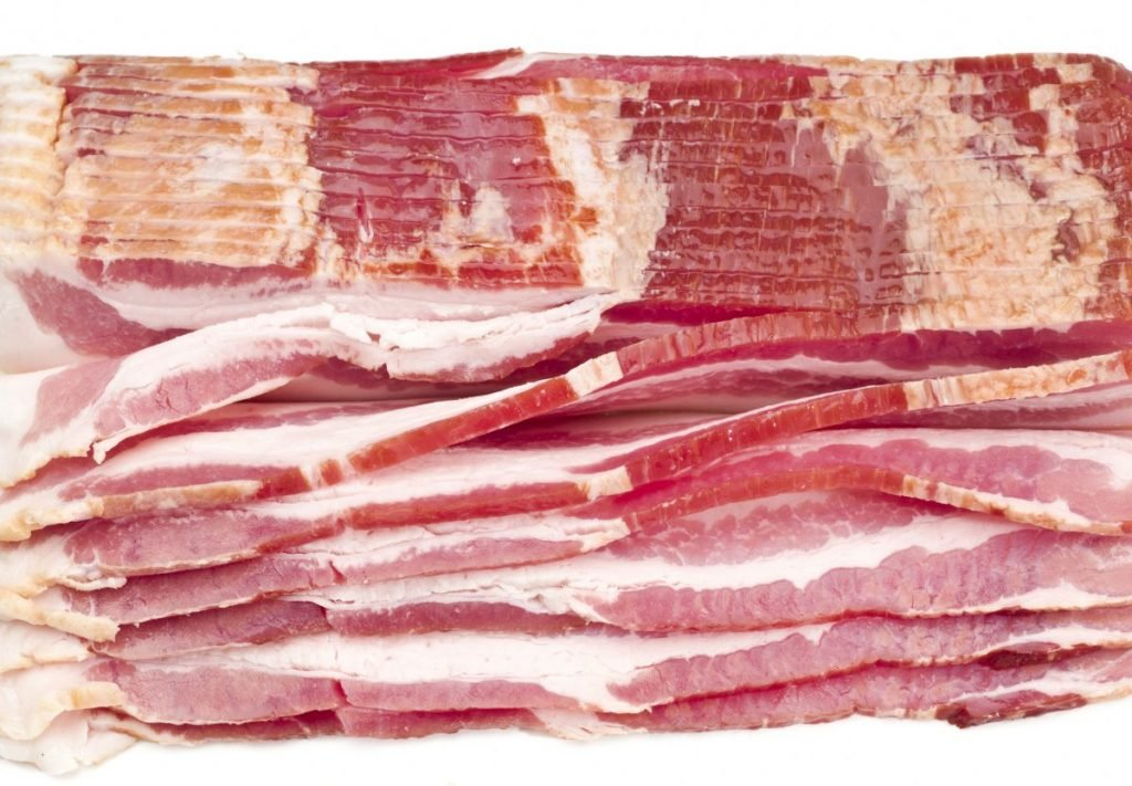 Nutrients in Bacon