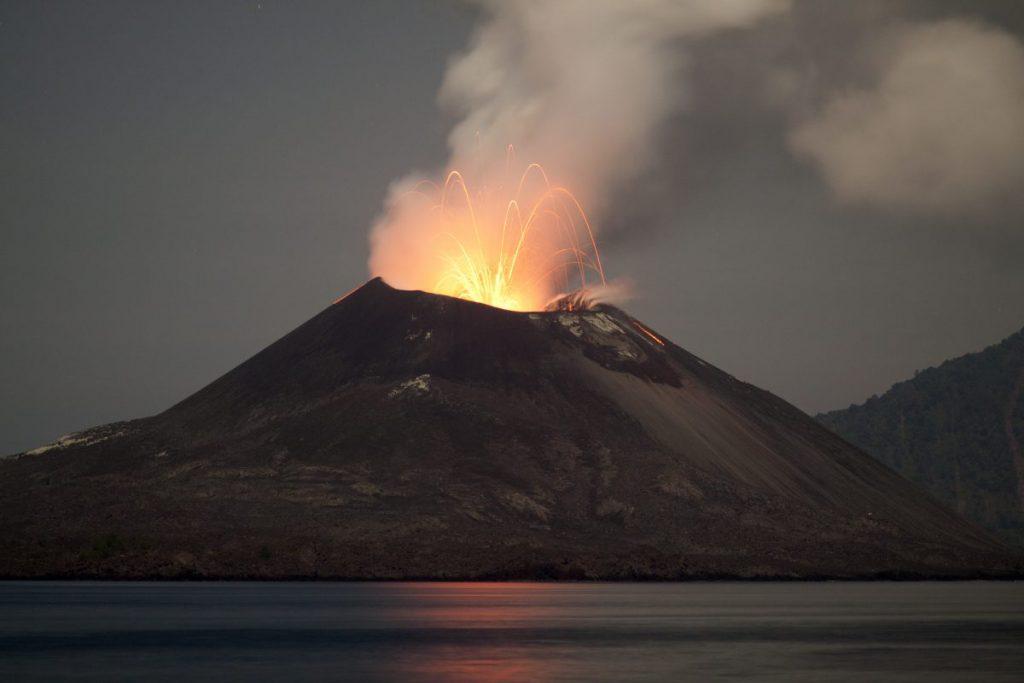 volcano dinosaurs