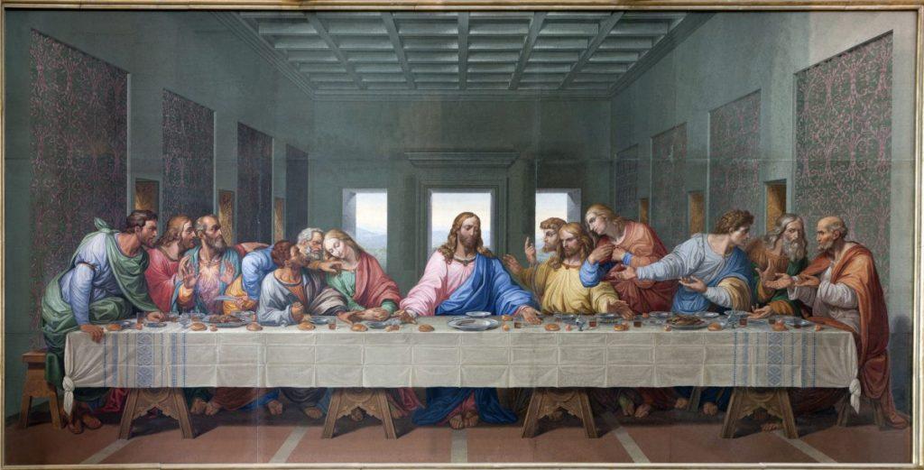 last supper Leonardo da Vinci