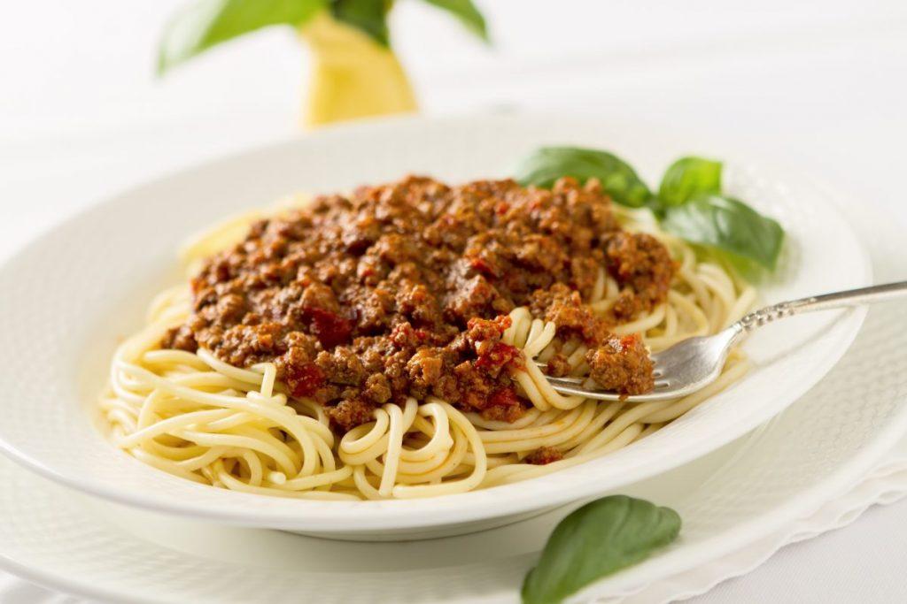 Beef pasta