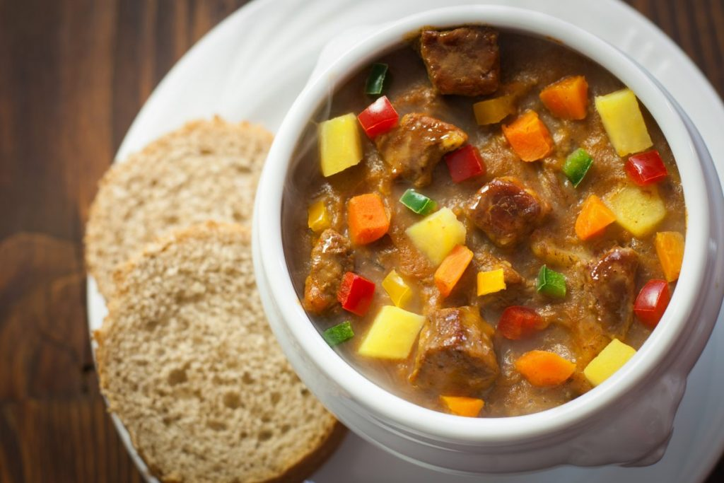 hungarian goulash gulyas pot