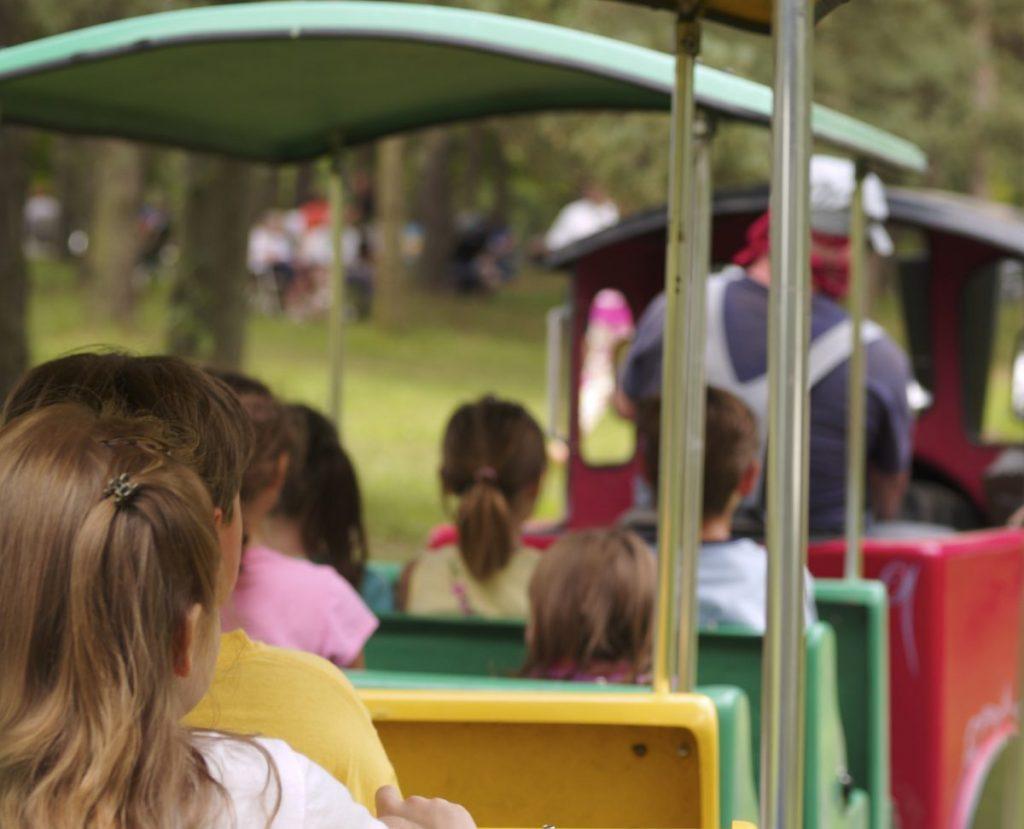 Six Flags Over Georgia railroad