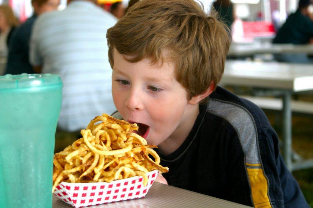 snacks Six Flags Over Georgia
