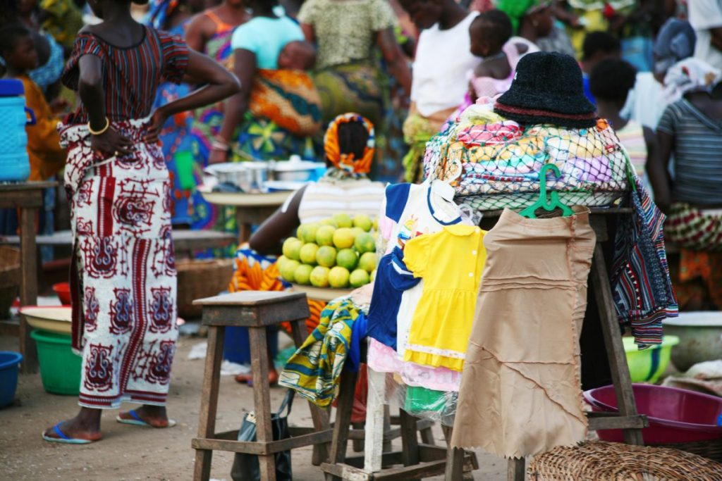 Cotonou Grand Marche Dantokpa market