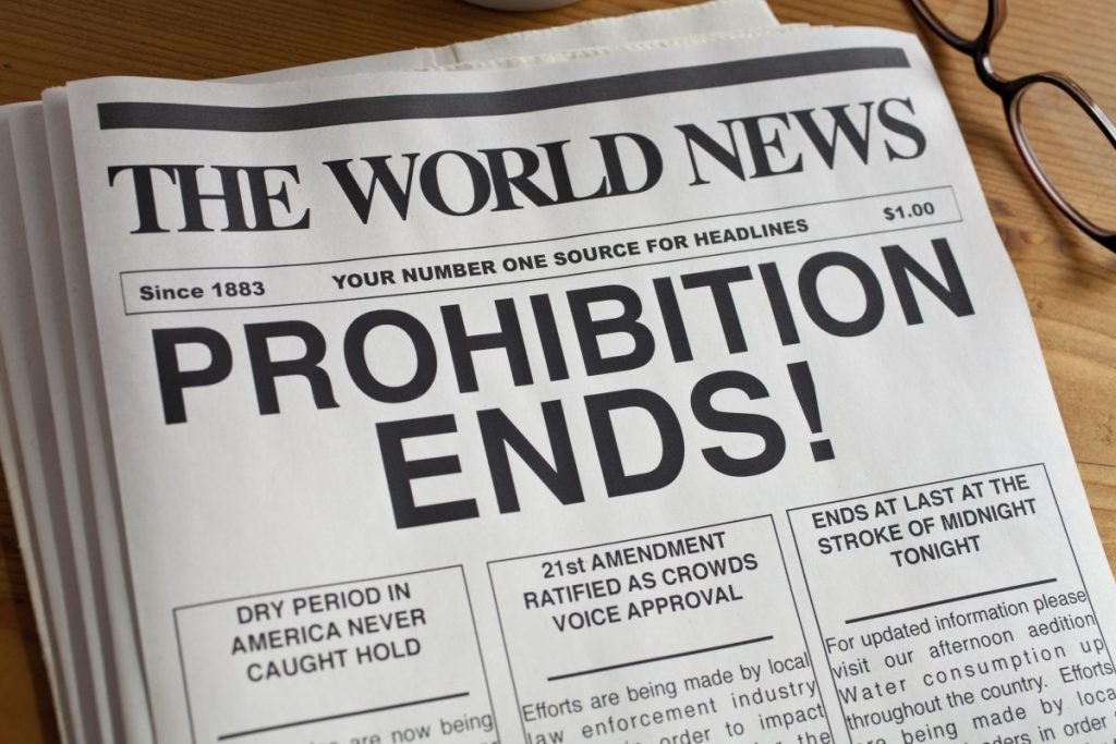 Prohibition 21st amendment
