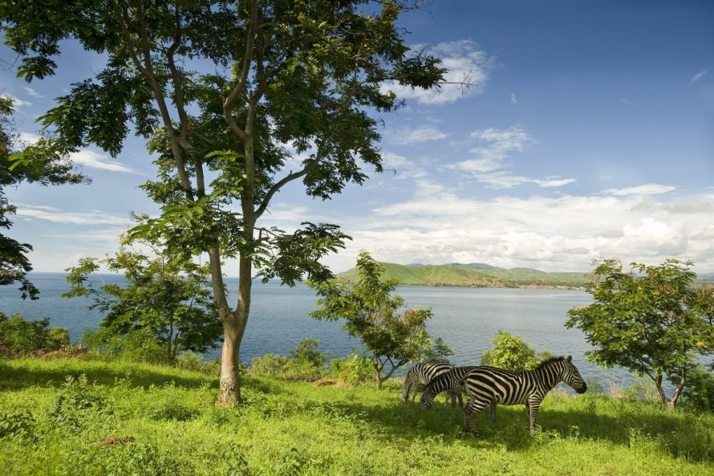 Tanganyika lake largest second African