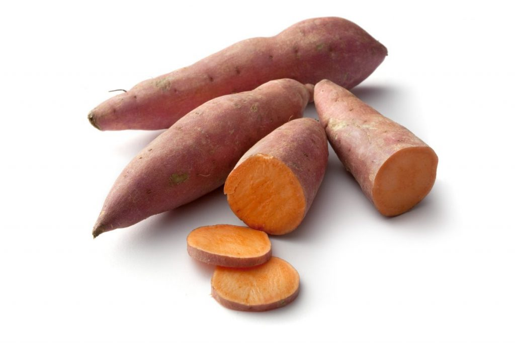 types sweet potato