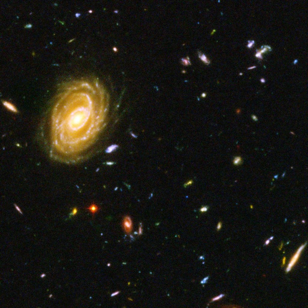 galaxy formation Big Bang