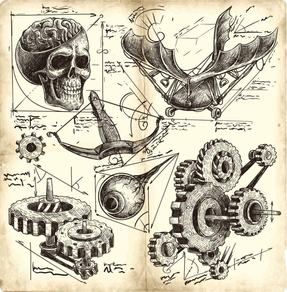 designs Leonardo da Vinci