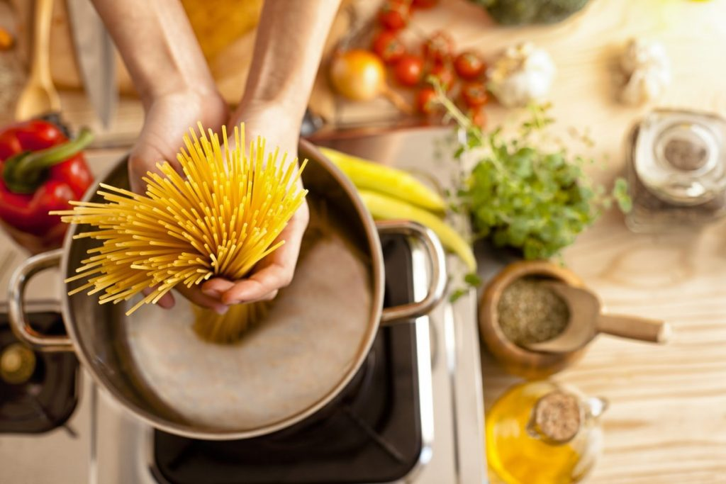 liquid pasta instant pot