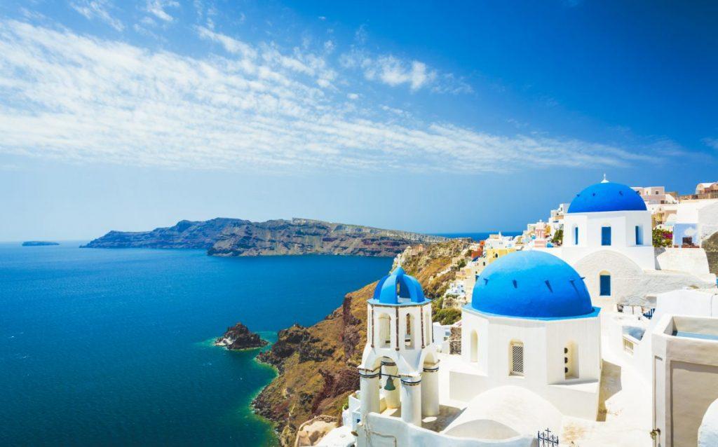 Indulge in the luxury of Santorini.