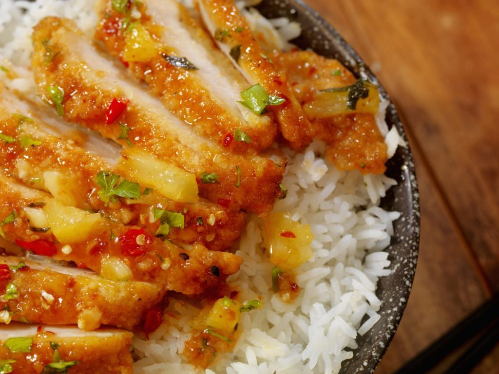 sweet sour chicken breast