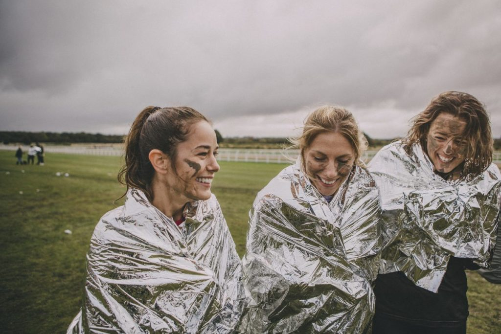 space blanket invented for astronauts