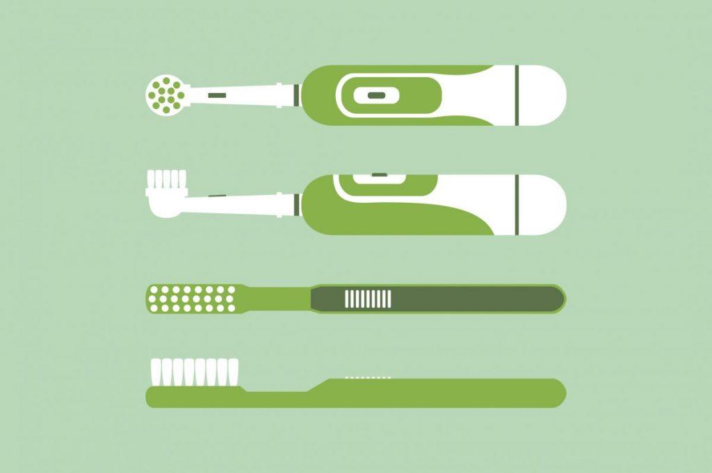 electric vs manual brushing