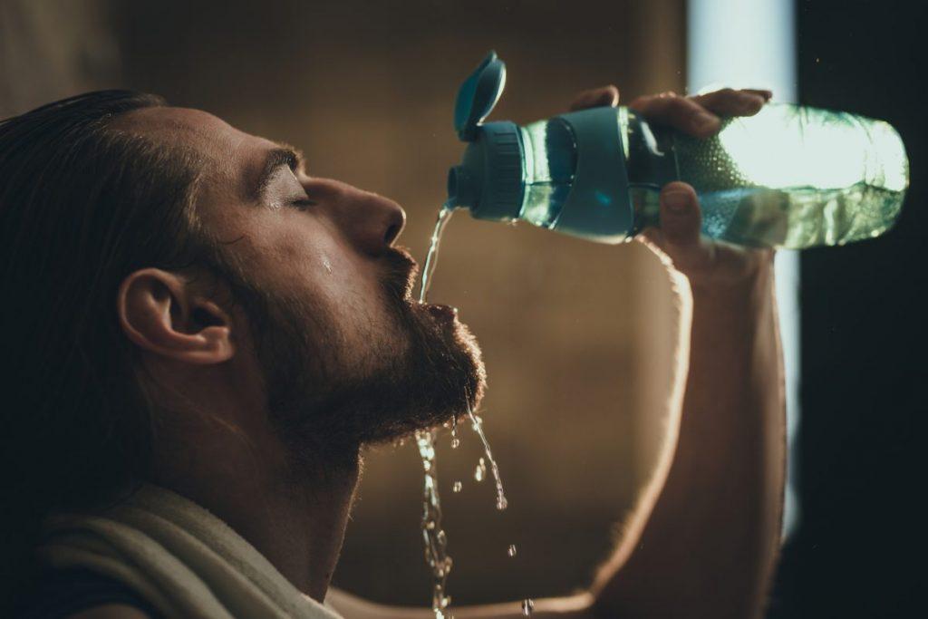 hot drinks sweat
