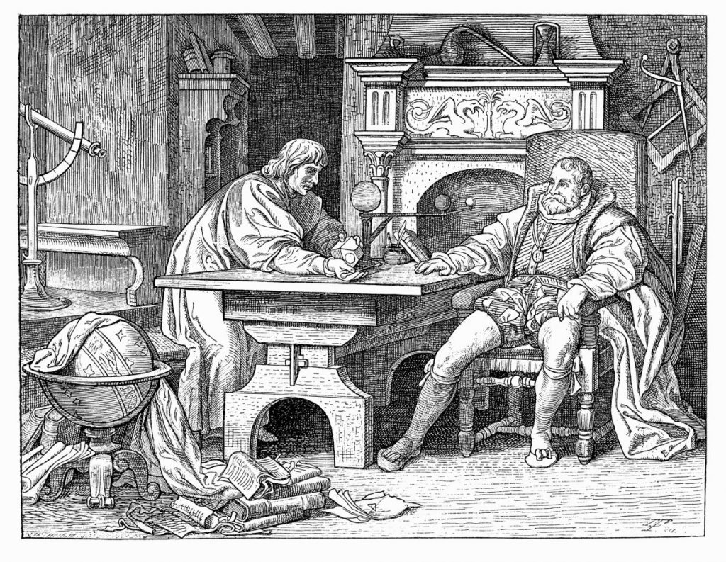 death of Johannes Kepler