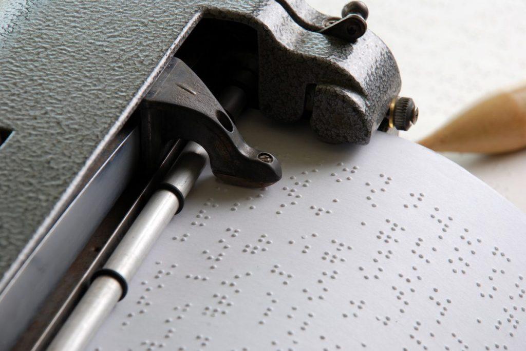 illiteracy Braille is