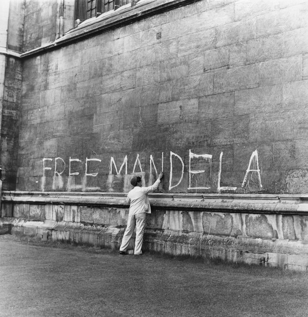 Nelson Mandela 27 years in prison