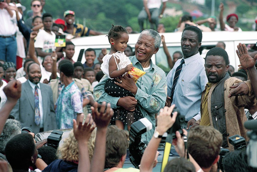Nelson Mandela black law practice