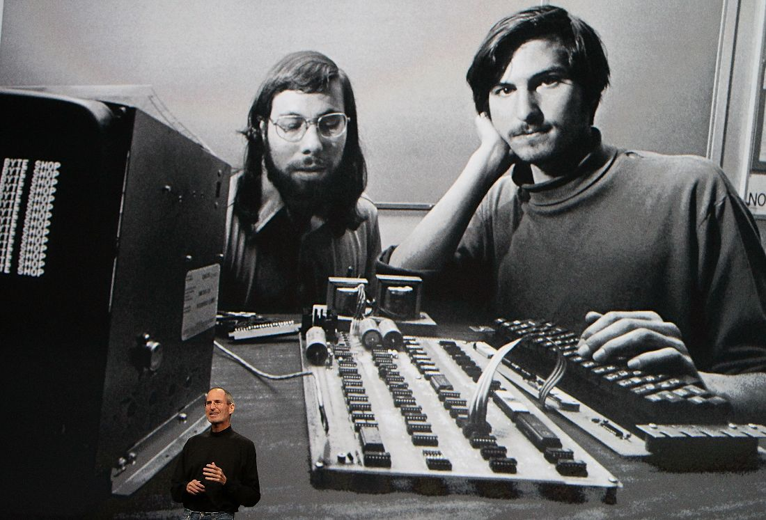 creating apple steve wozniak Steve Jobs