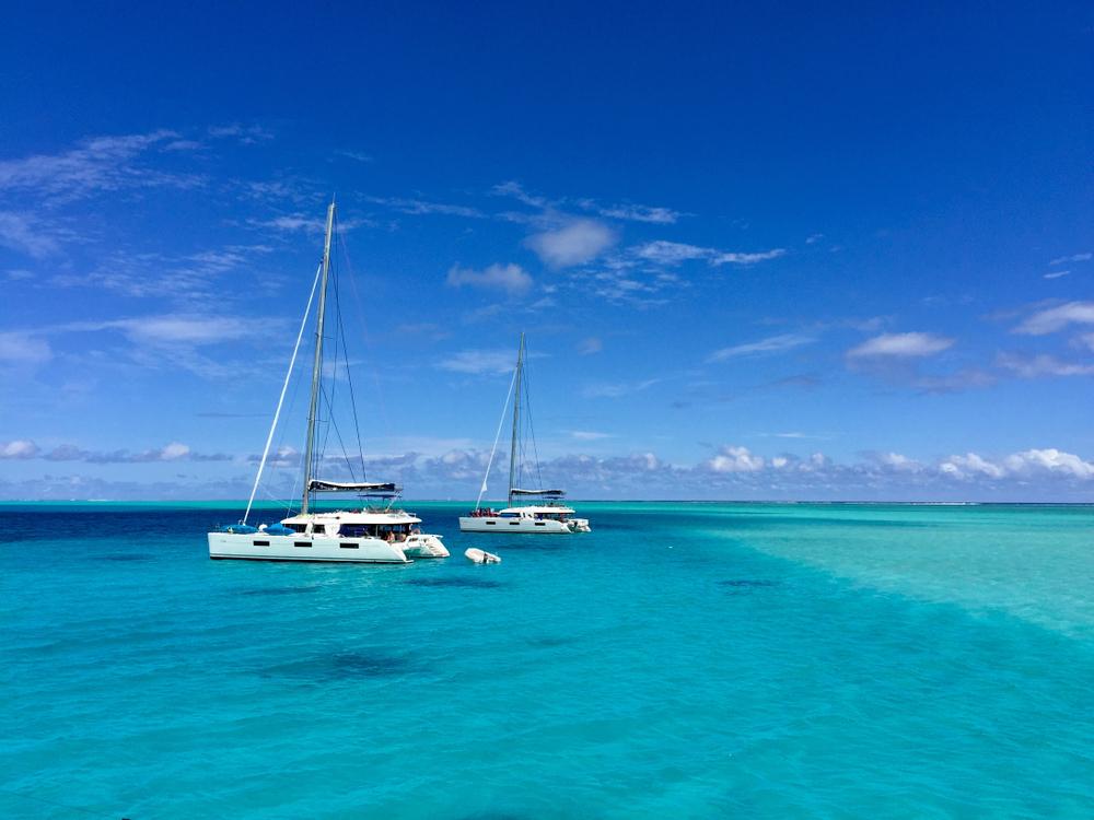 cruising Bora Bora
