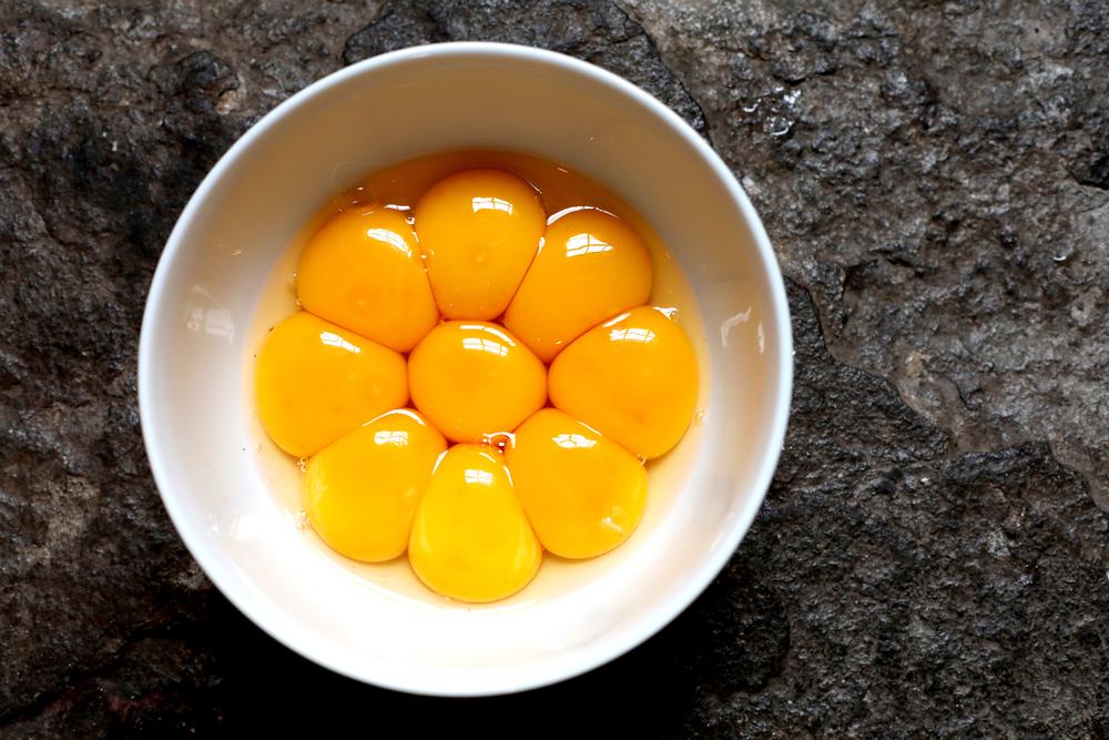 yolk souffle