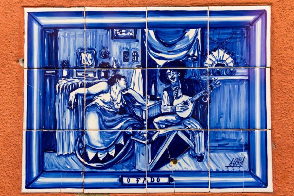 Fado tiles, Lisbon