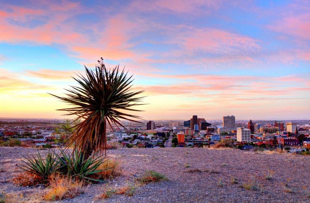 El Paso Rio Grande border