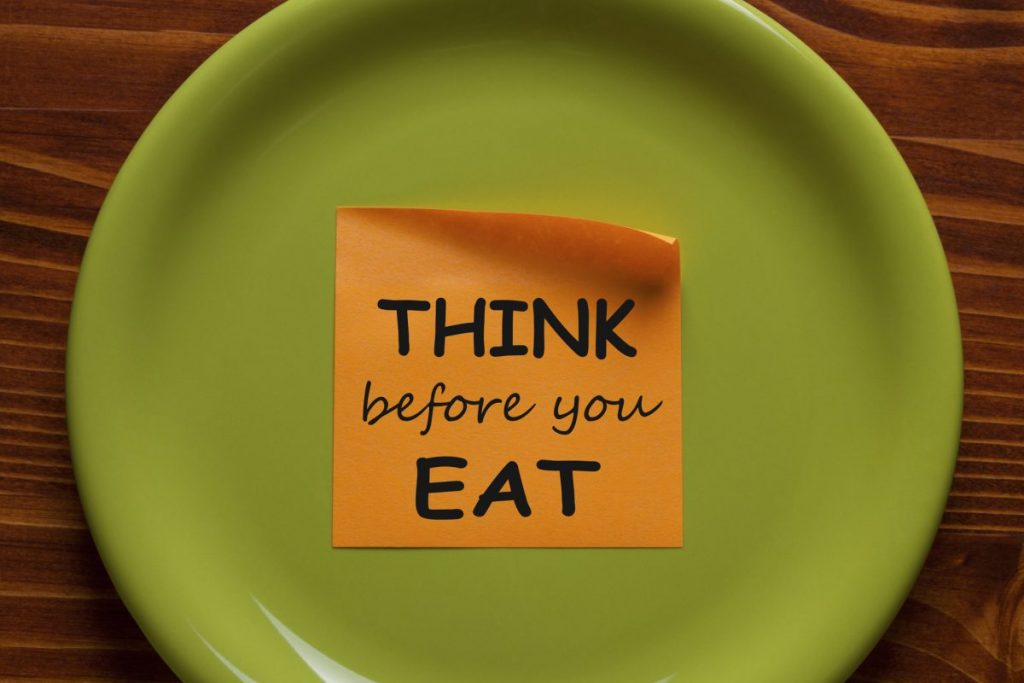 mindful eating intentional