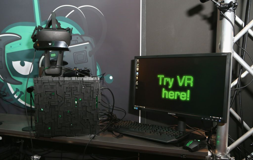 first computer VR