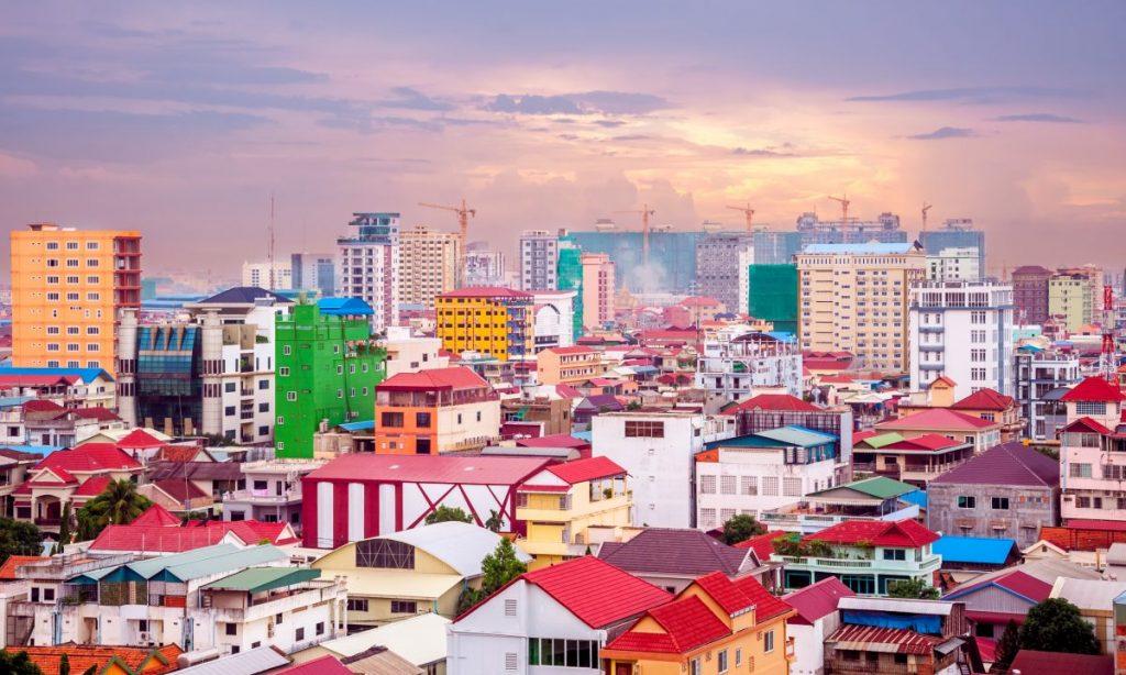 phnom penh city landscape