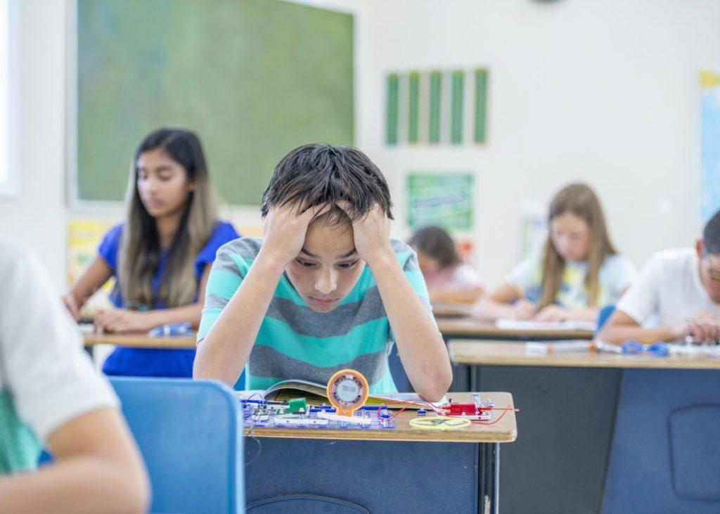 child difficulty school adhd