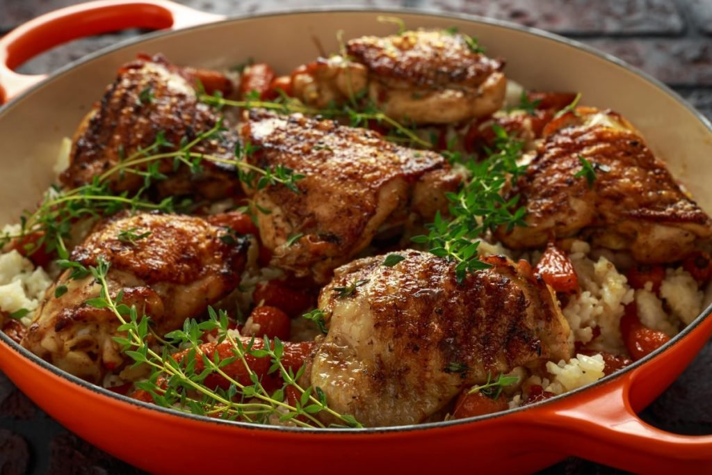 honey glazed chicken thighs