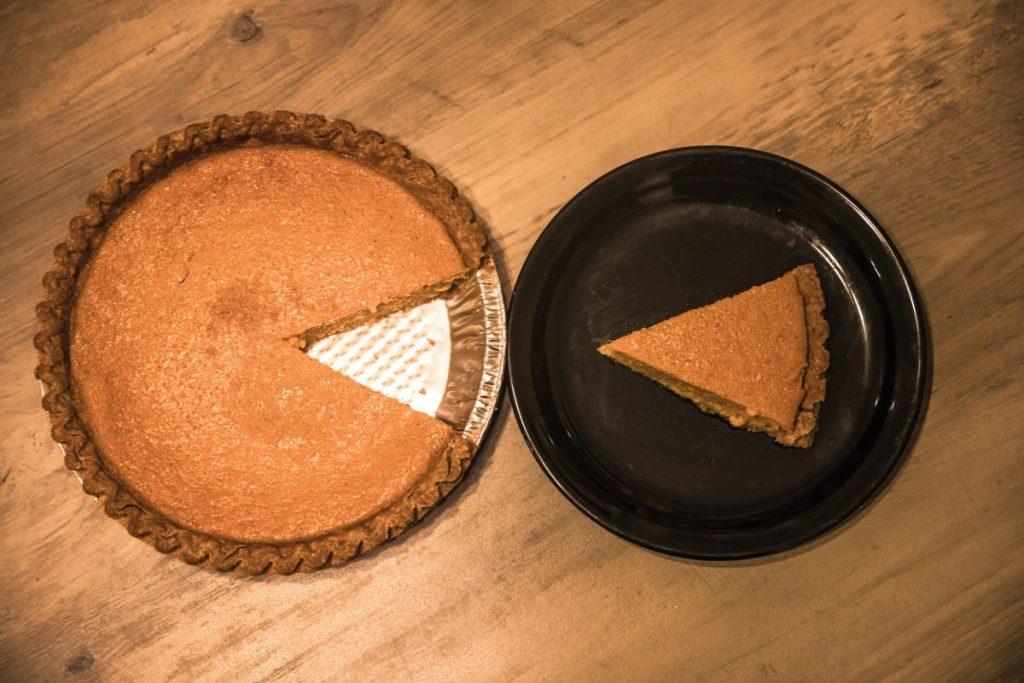 perfect slice sweet potato pie