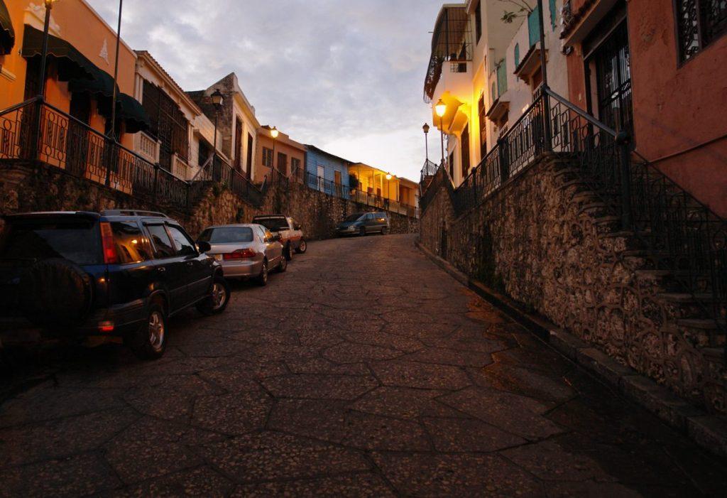 street santo domingo