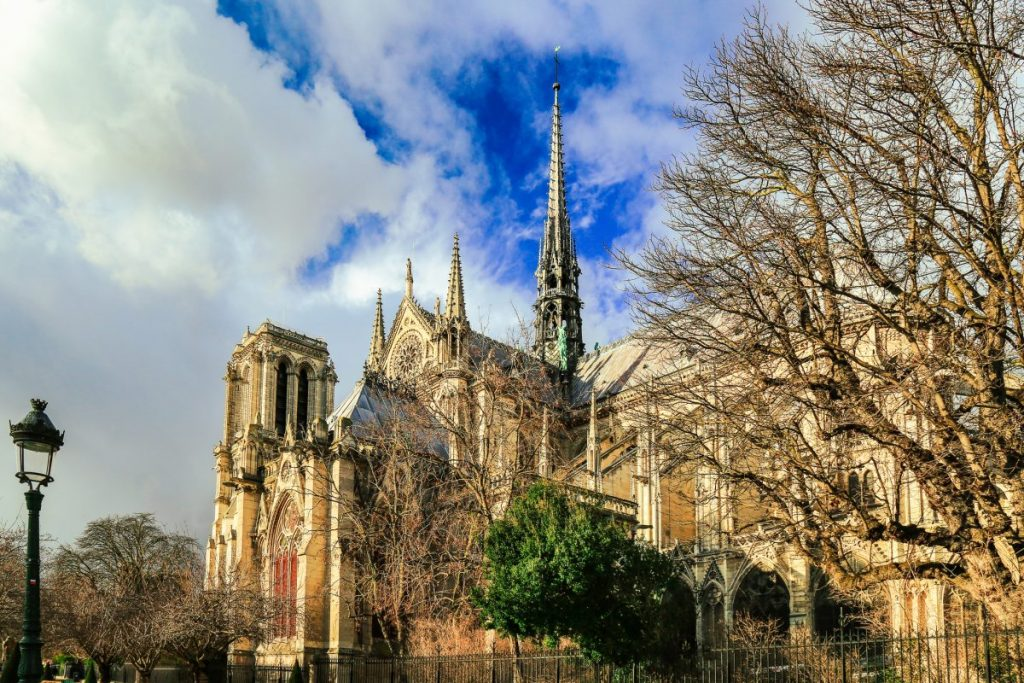 notre dame east view