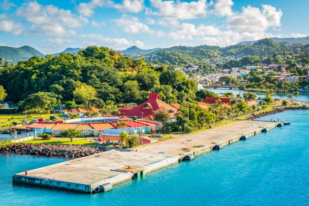saint lucia castries harbor