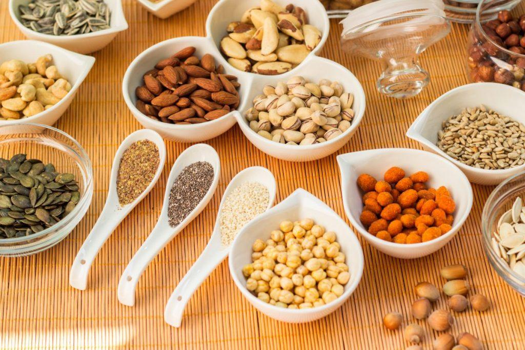 arginine walnut peanut pumpkin seeds