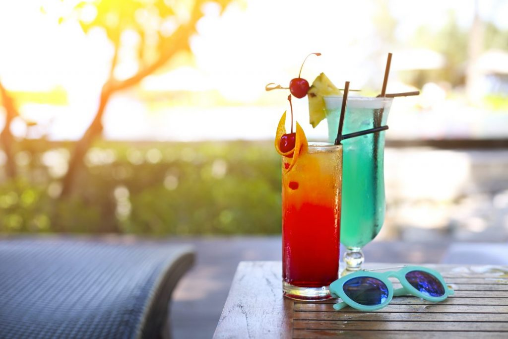 alcohol drinks holiday Thailand