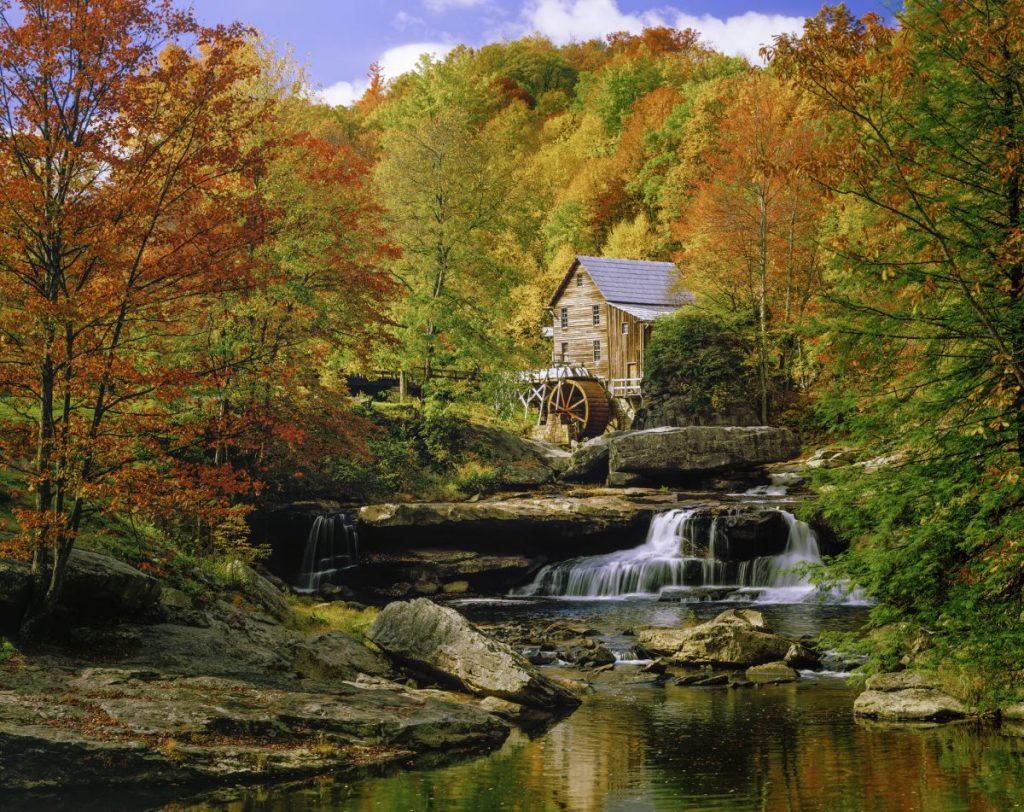 autumn in west virginia