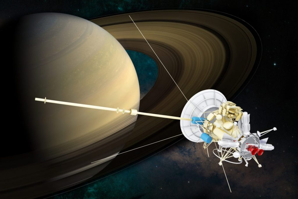 cassini rings saturn