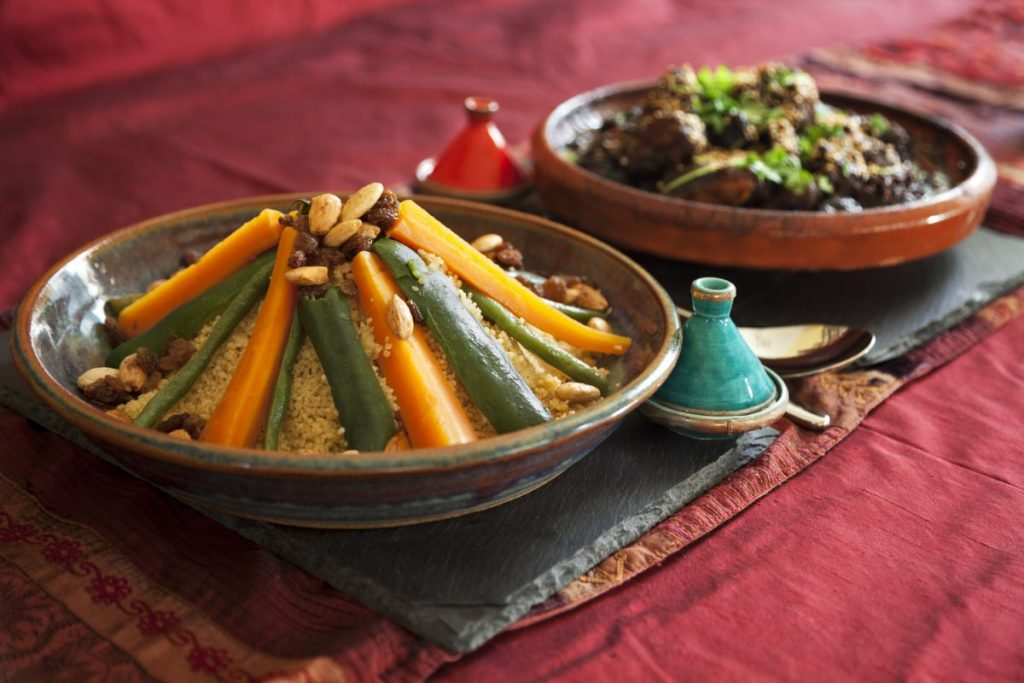 Tagine and couscous