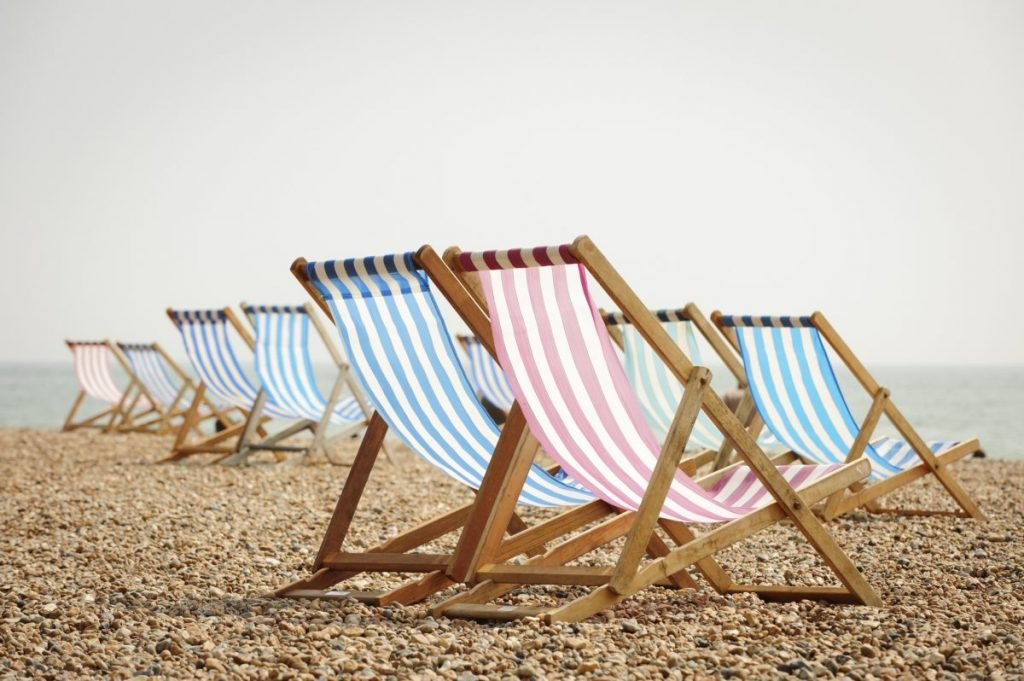 brighton beach deck chairs
