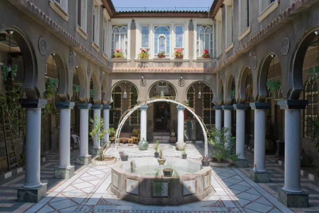 Courtyard Damascus Palace