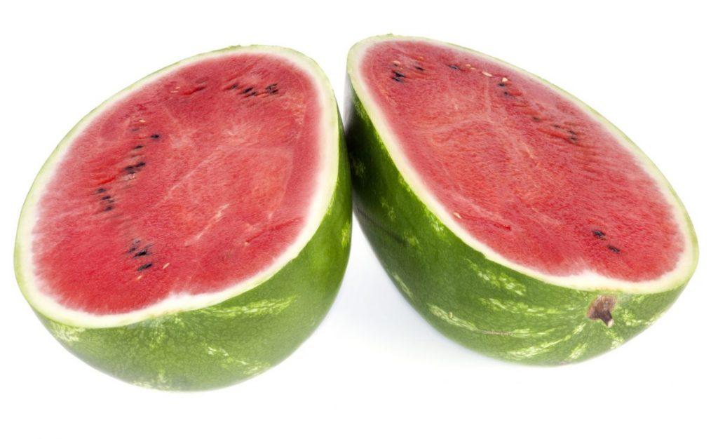Cutting Open a Watermelon